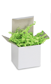 Lime Green Crinkle Paper