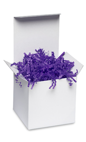 Purple Crinkle Paper