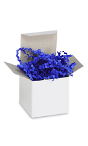 Royal Blue Crinkle Paper
