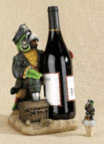 Pirate Parrot Wine Holder